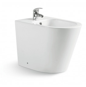 Bidet a terra rimless serie Blues